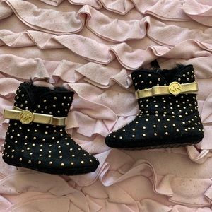 LIKE NEW Michael Kors baby girl boots size 2
